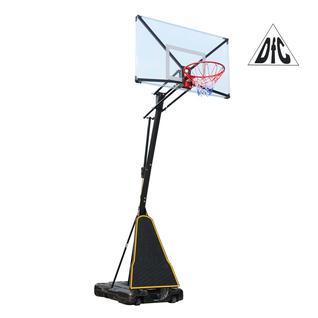 DFC Баскетбольная мобильная стойка DFC STAND54T 136x80см поликарбонат