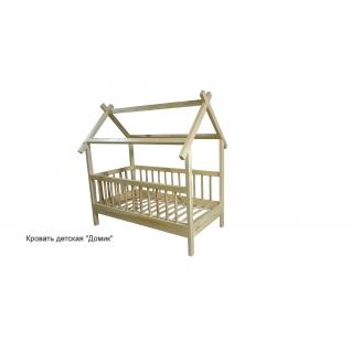 Кровать детская домик