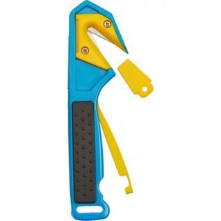 Нож промышленный Attache для вскрытия упаковочных материалов, цв.синий