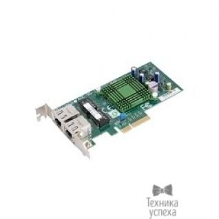 Supermicro Supermicro AOC-SG-i2 Dual Gigabit i82575EB PCI-Ex4 LP (AOC-SG-I2)