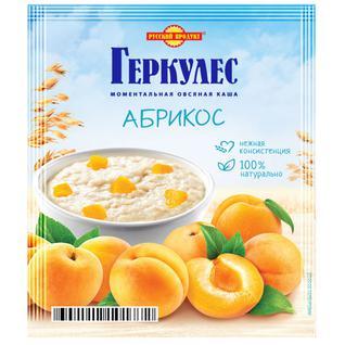 Русский продукт Овсяная каша момент Геркулес с абрикосами 35г
