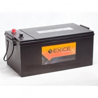 Аккумулятор EXICE 72512 225 Ач HEAVY Duty Extra евро полярность - 72512 EXICE (ЭКСИС) 72512