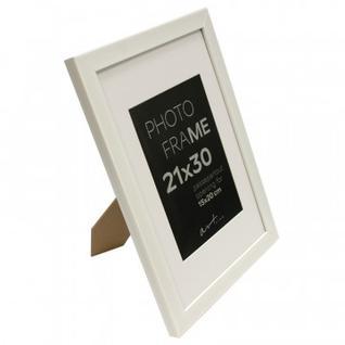 Рамка пластиковая с паспарту Gloria White 21x30 37330