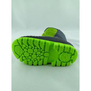N689-3 зеленый сноубутсы мышонок 23-30 (26) Мышонок