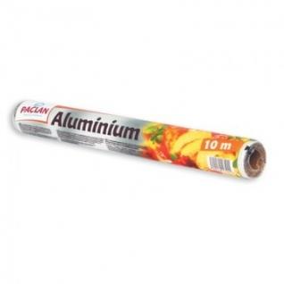 Фольга пищевая алюминевая (рулон 10м х 29см) PACLAN