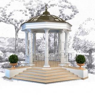 Проект малых архитектурных форм (МАФ) (Архитектурный проект МАФ)