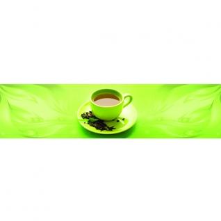 Фартук для кухни Зеленый чай 600х2440мм