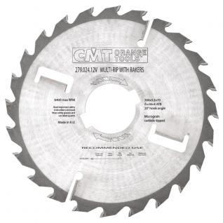 Пильный диск CMT по двусторонним ламинированным панелям 350x30x4,2/2,8 18° 10° ATB Z=24+6 277.024.14M