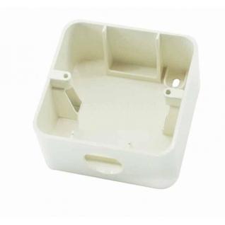 Коробка для открытого монтажа Кремовый Makel