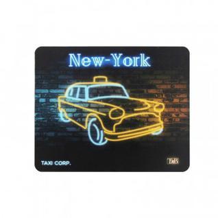 Коврик для мыши неоновый, Такси Нью-Йорк TSNNY