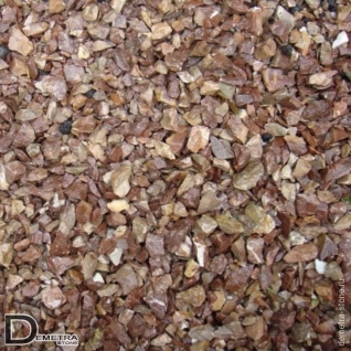 Щебень мраморный розовый фр. 20-40мм (25 кг)
