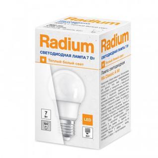 Лампа светодиодная 7W/830 230VFR E27 10X10X1, Radium, груша