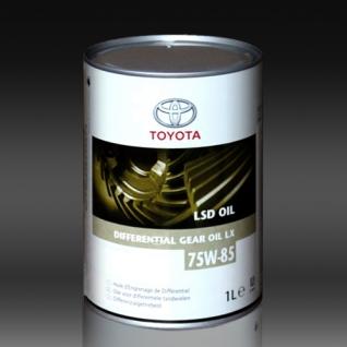 Масло для дифференциалов TOYOTA GEAR OIL LSD LX GL-5 75W85 1л