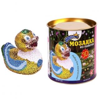 """Мозаика Из Пайеток 3d """"Утка"""""""