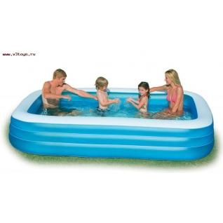 Надувной бассейн Intex Swim Center