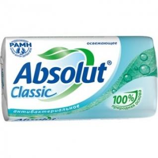 Мыло туалетное 90г ABSOLUT Антибактериальное в ассортименте
