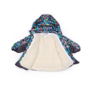 Комплект MalekBaby (Куртка + Полукомбинезон), Без опушки, №313/1 (Фигурки+серый) арт.409ШМ