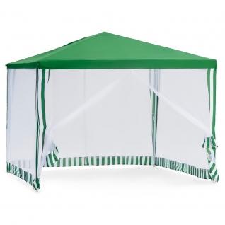 Тент шатер садовый с москитной сеткой Green Glade 1028, прямой карниз, от солнца ...