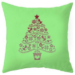 Подушка декоративная НГ 40х40 Новогодняя елка