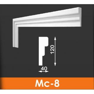 Молдинг фасадныйАрхитекМс-8 120*40