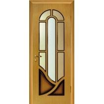 Дверное полотно МариаМ Мария ПУ лак остекленное 600-900 мм