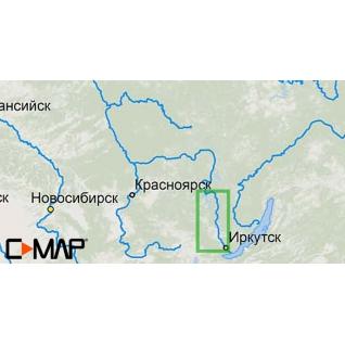 Карта C-MAP RS-N504 - Иркутск-Братск C-MAP