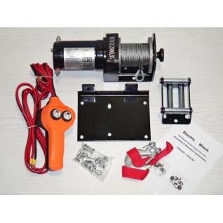 Лебедка автомобильная ATV Electric Winch 12v 2000 LBS
