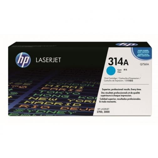 Оригинальный картридж Q7561A для HP CLJ 2700, 3000 (голубой, 3500 стр.) 903-01 Hewlett-Packard 852408 1
