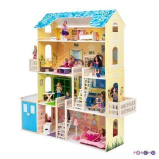 """Кукольный домик """"Лира"""" (с мебелью)"""