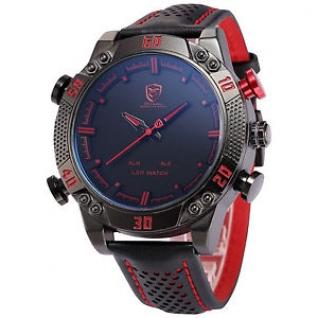 Часы Shark Sport (черно-красные)