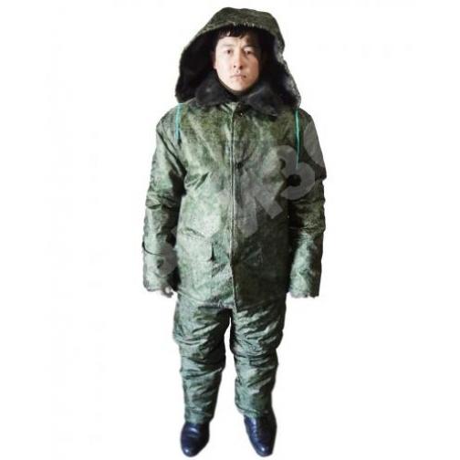 Костюм зимний (куртка+ полукомбинезон) тк. Оксфорд расцветка Цифра 14556