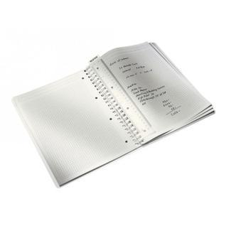Бизнес-тетрадь Leitz WOW, А4, 80л, полипропилен, кл., зеленый 46380064