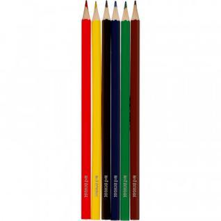 Карандаши цветные 6цв. 6-гран №1School Отличник