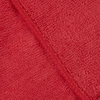 Салфетка хозяйственная универсальн микрофибра 300г/м2 30х30см красная Китай
