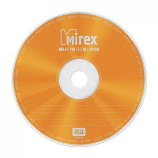 Носители информации Mirex DVD+R 4,7 Гб 16x cake box 10 (UL130013A1L)