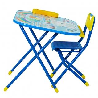 """Трансформируемый столик """"Дошкольник"""" - Блокнот, синий Дэми"""