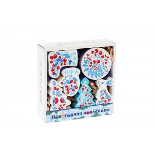Набор елочных игрушек «Зимняя ягода»