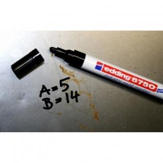 Маркер для промышленной графики EDDING E-8750/1 черный 2-4мм