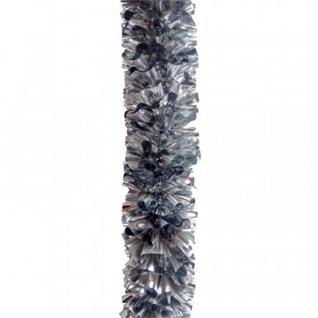 Мишура № 29, Бант 75 мм серебро