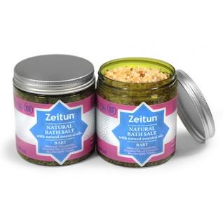 Детская соль для купания Зейтун с экстрактами ромашки, череды и ванили