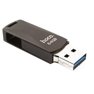 Флеш-накопитель Hoco UD5 Wisdom high-speed Flash Drive metal 64Gb Графитовый