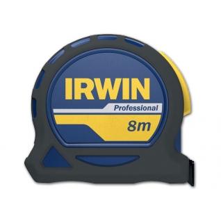 Рулетка Irwin 8м х 25мм PROFESSIONAL, магнит, нейлон, двухсторонняя разметка