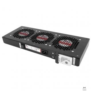 Цмо ЦМО Модуль вентиляторный, 3 вентилятора с терморегулятором, чёрный R-FAN-3T-9005