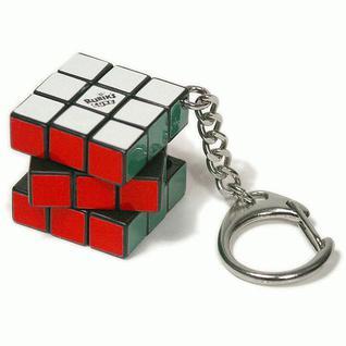 "Головоломки Rubiks Rubiks KP1233 Брелок ""Мини-Кубик Рубика"" 3х3"