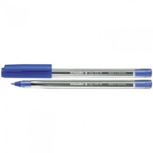 Ручка шариковая SCHNEIDER Tops 505 М однораз. 0,5 мм синий, Германия 37873835