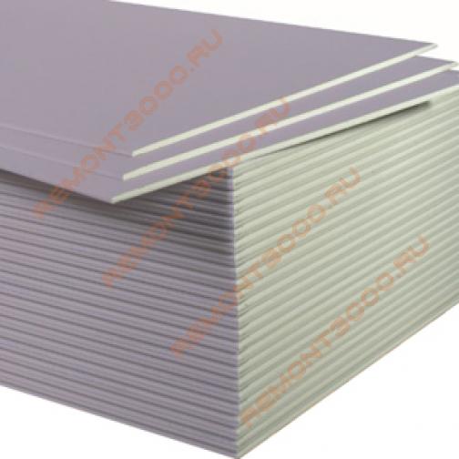 КНАУФ Сапфир гипсокартон акустический огневлагостойкий 2500х1200х12,5мм (3,0м2) / KNAUF Сапфир гипсокартонный лист звукозащитный влагоогнестойкий 2500х1200х12,5мм (3,0 кв.м.) Кнауф 36983524