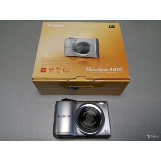 Цифровая камера Canon PowerShot A810 Silver