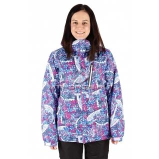 Куртка горнолыжная женская большого размера 1436