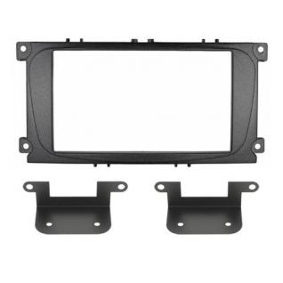 Переходная рамка Intro RFO-N15 для Ford Focus 2 рестайл, Mondeo 07+, S-Max, Galaxy 2DIN (крепеж) Intro
