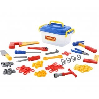 Набор инструментов №15 (57 элементов) (в контейнере) Полесье